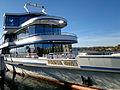 MS Panta Rhei der Zürichsee-Schifffahrtsgesellschaft an der Schifflände in Rapperswil 2012-10-30 15-15-09 (N8).jpg