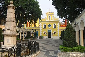 Coloane - Chapel of St. Francis Xavier