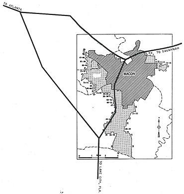 Map Of Georgia 75.Interstate 75 In Georgia Wikiwand