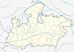 Dhamnod is located in Madhya Pradesh
