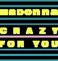 Madonna - Crazy for You logo.png