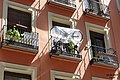 Madrid- Bikes on a balcony (det.) (34486341046).jpg