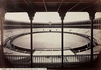 Jean Laurent (photographer) - Madrid, Plaza de toros (1874)