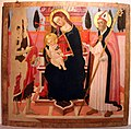 Maestro della natività johnson (forse domenico di zanobi), madonna tra i ss. g.battista e quirico, 1470-80 ca., da s. quirico alle sodere.JPG