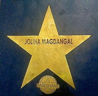 Jolina Magdangal - Magdangal's star in the Philippines Walk of Fame.
