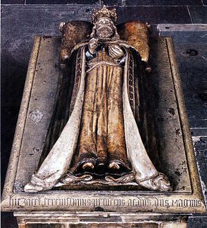 Magnus III of Sweden - Magnus's 16th century grave monument over his family crypts in Riddarholm Church