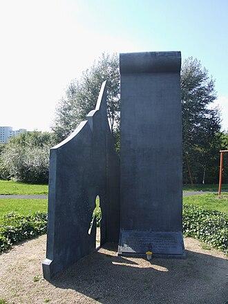 Plänterwald - Image: Mahnmal für die Treptower Maueropfer