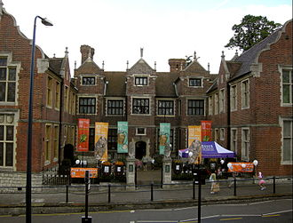 Maidstone Museum & Art Gallery - Maidstone Museum original entrance (since replaced by a newly built entrance lobby)