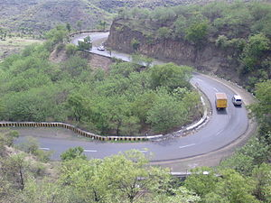 Main Eastern Highway - Ghat section of The Main Eastern Highway