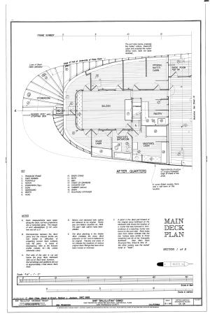 Filebalclutha Deck Plans Poop Deck Forecastle Deck Main Deck