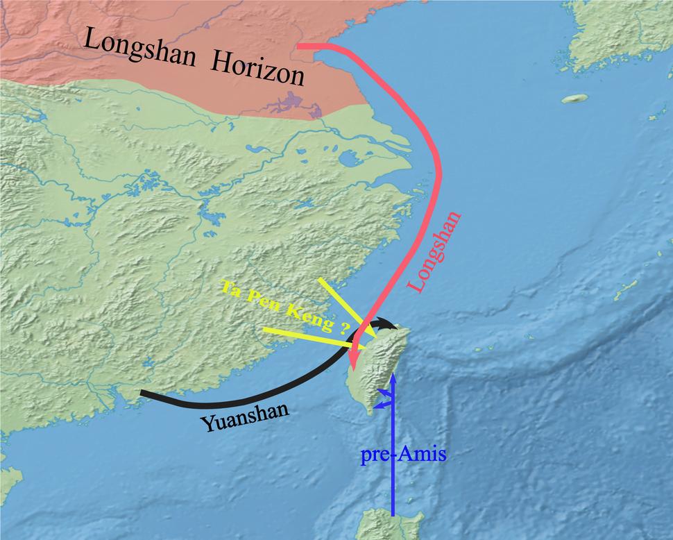 Mainland pre-Austronesian cultures