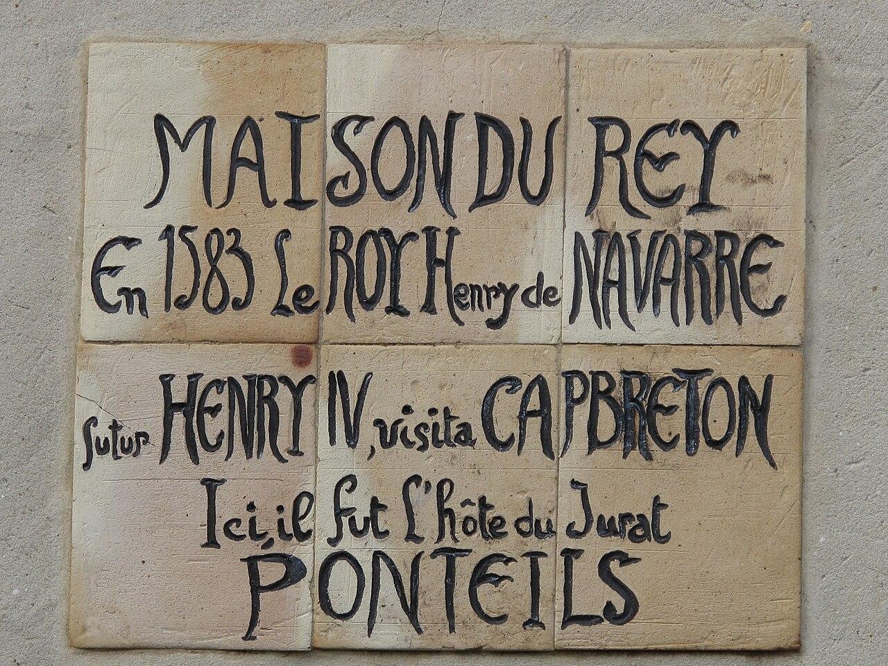 Fichier maison du rey wikip dia - Origine du mot maison ...