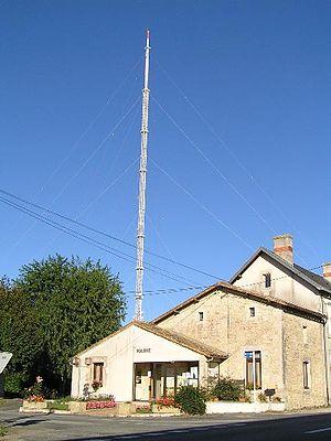 TV Mast Niort-Maisonnay - Maisonnay skyline