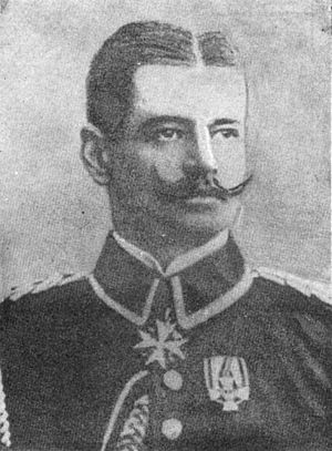 Charles Atangana - Major Hans Dominik