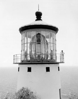 Fresnel lens - Makapuu Point Light