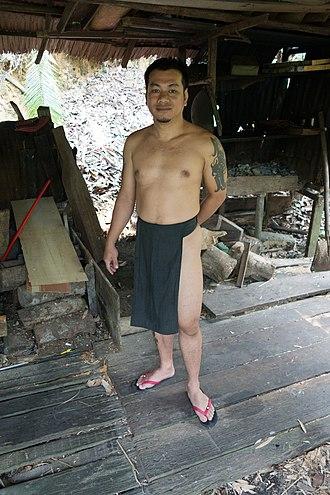Penan people - A Penan man from Sarawak, Malaysia.