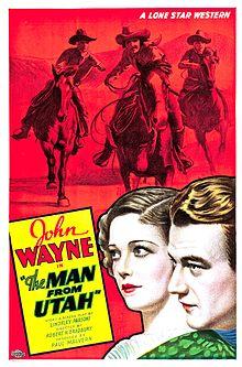 3abddad99b3d3 The Man from Utah - Film poster