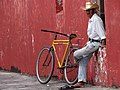 Man in Street - Tlacotalpan - Veracruz - Mexico (15881540659).jpg