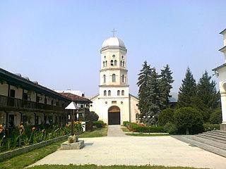 Cocoș Monastery heritage site in Tulcea County, Romania