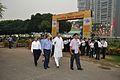 Manish Gupta with NCSM Dignitaries Visit Mobile Science Exhibition - Inaugural Function - MSE Golden Jubilee Celebration - Science City - Kolkata 2015-11-17 5097.JPG