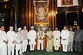 Manmohan Singh, the Speaker, Lok Sabha, Smt. Meira Kumar, the Union Home Minister, Shri Sushil Kumar Shinde, the Chairman of BJP Parliamentary Party.jpg