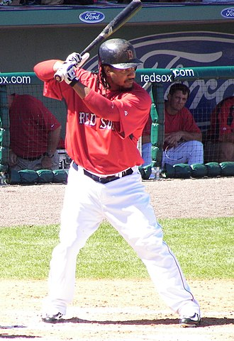 2004 World Series - Ramírez, seen here during spring training in 2007, was named the series MVP.