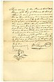 Manumission papers of Phillis Murray, negro woman aged about 25 years, signed William Glasgow, December 31, 1833.jpg