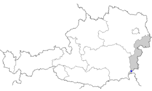 Jennersdorf - Image: Map at jennersdorf