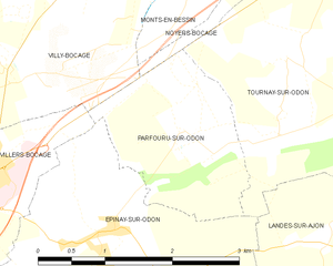 Map commune FR insee code 14491.png