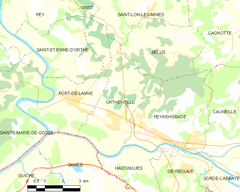 Map commune FR insee code 40212.png