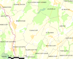 Map commune FR insee code 60235.png