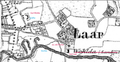 Map detail of Laar in the county of Bentheim 1850 1863.png