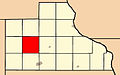Map highlighting Farmers Creek Township, Jackson County, Iowa.jpg