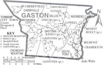 Gaston County, North Carolina - Wikipedia