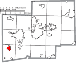 Location of Brewster in Stark County