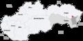 Map slovakia strazske.png