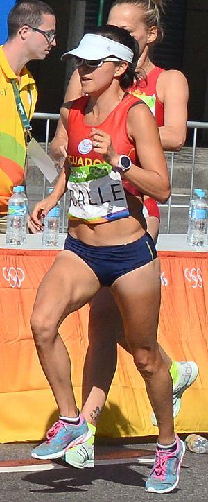 María Elena Calle - Calle at the 2016 Olympics