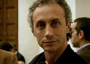 English: The italian journalist Marco Travagli...