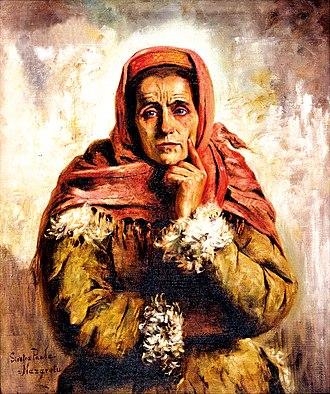 Maria Gażycz - Image: Maria Gażycz Wieśniaczka