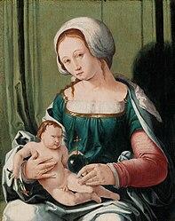 Lucas van Leyden: The Virgin and Child