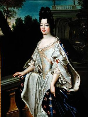 1712 in France - Princess Marie Adélaïde, Dauphine of France
