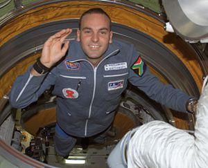 Shuttleworth on board the International Space ...
