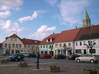 Wittichenau - Image: Markt Wittichenau 4
