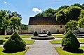 Marmagne Abtei Fontenay Hof 09.jpg