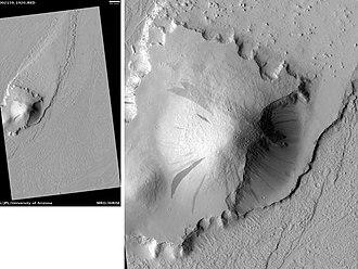 Marte Vallis - Image: Marte Vallis Island