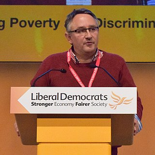 Martin Horwood British Liberal Democrat politician