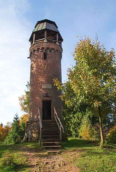 Aussichtsturm - Martinsturm bei Klingenmünster