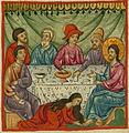 Mary Anoints Jesus, Ilyas Basim Khuri Bazzi Rahib.jpg
