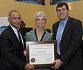 Mary Glackin receives NASA medal.jpg