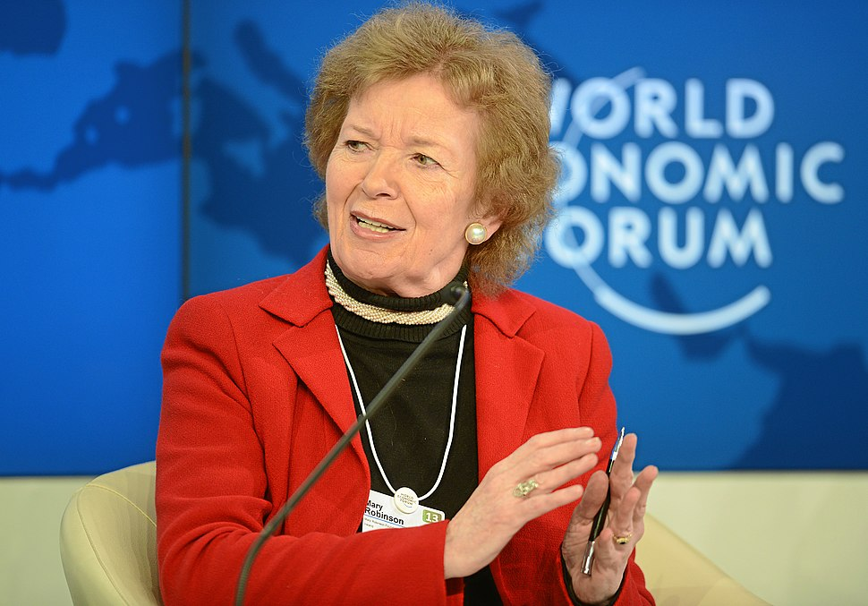 Mary Robinson World Economic Forum 2013